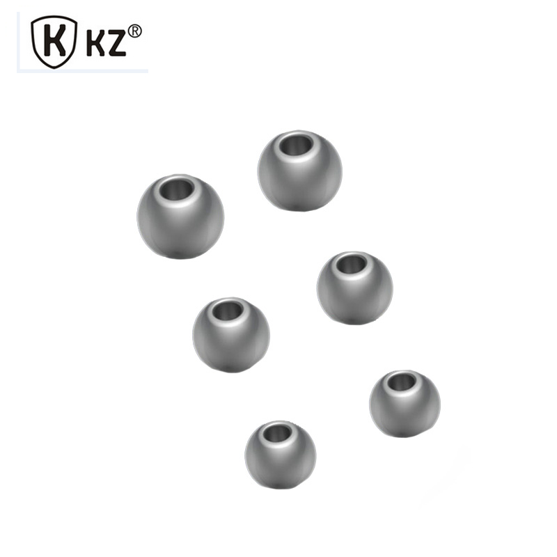 Original KZ S M L Noise Isolating Silicone Earbuds Ear Tips For Earphone Earpads Strengthen bass eartips for KZ Earphone Earbud