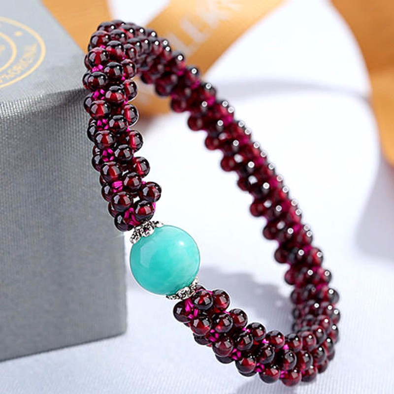 High Quality Natural Garnet Bracelet