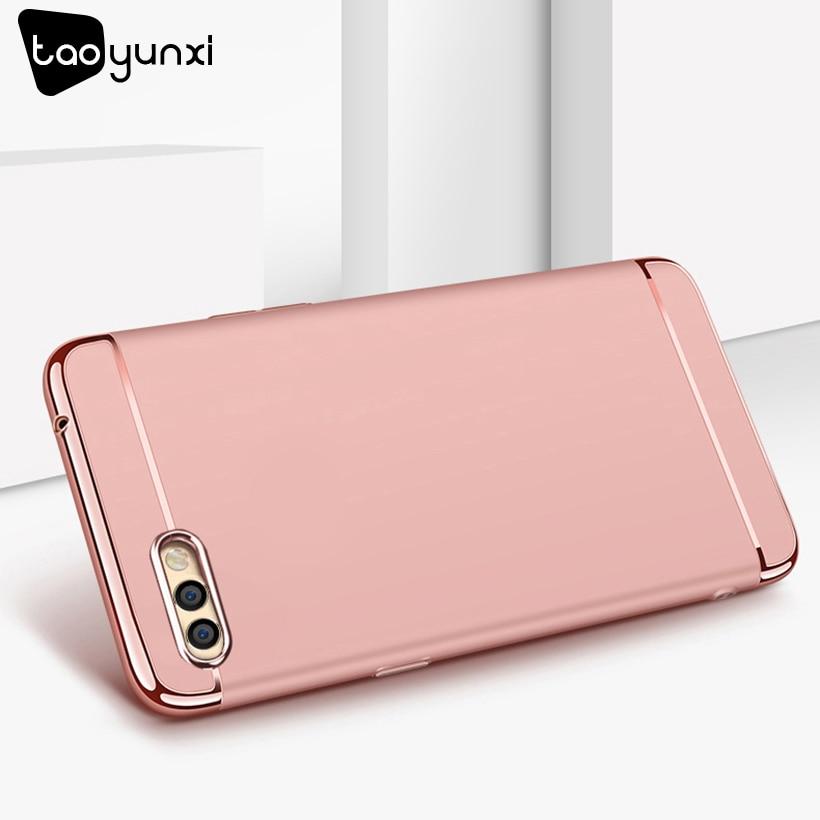 TAOYUNXI Plating Plastic Case For Huawei Nova 2s Case Back Cover Coque Funda for Huawei Nova 2s 6.0 inch Anti-Knock Etui