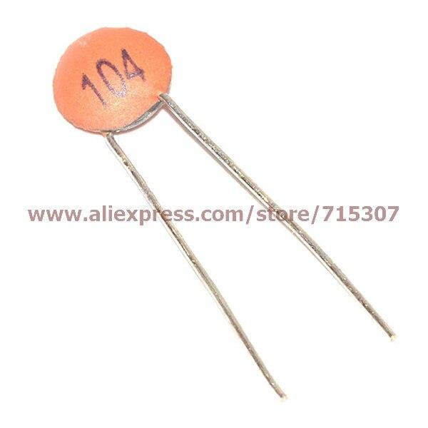 1000 pcs 50V 104pF 100000pF 100nF 0.1uF Ceramic Disc Capacitor New
