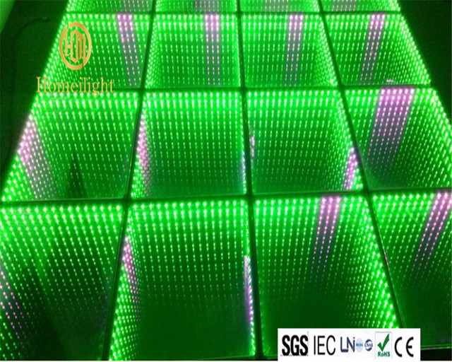 10pcs RGB full color control led stage light party infinity mirror ...