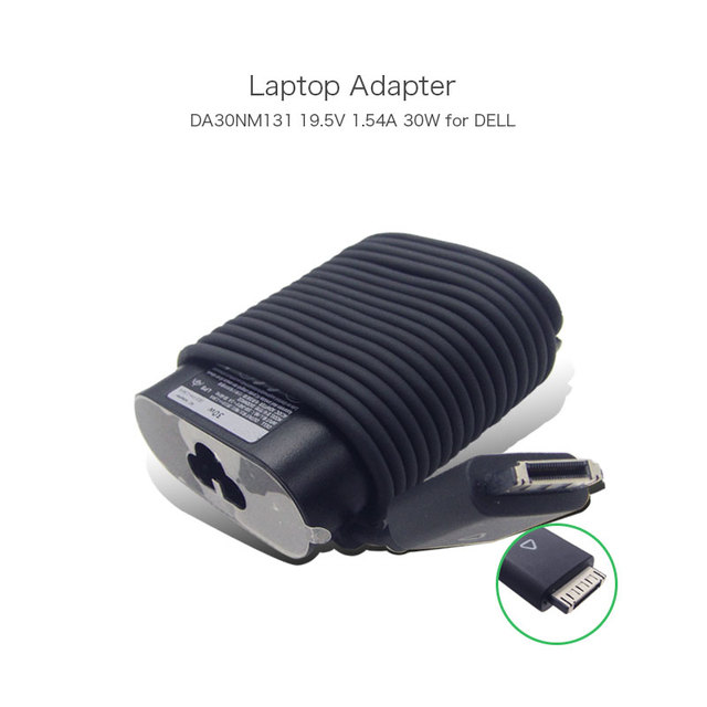 New Original ADP-30YH B 19.5V 1.54A 30W Laptop Charger Adapters for DELL Latitude  ADP-30YH BA DA30NM131 With Special Tips