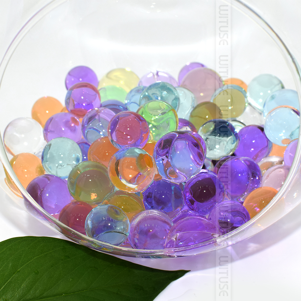 WITUSE 3000 600pcs/lot Water Beads Pearl Shaped Crystal