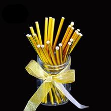 Gold Drinking Straws