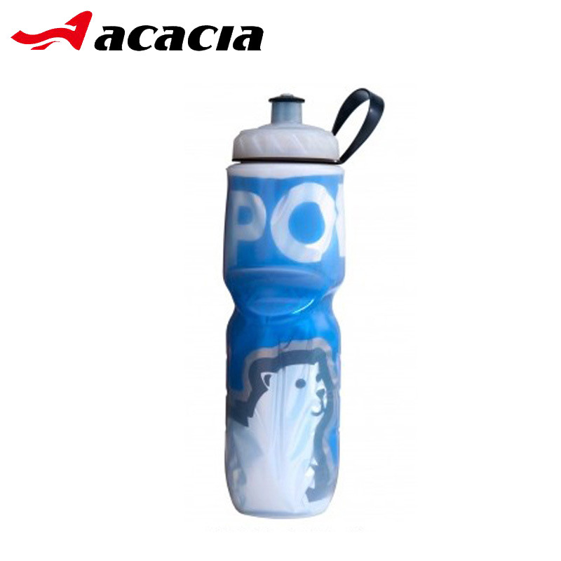 Classic 710 ML 590 ML Double Layer Keeping Cold Cycling Water Bottle Hiking Camping Tour ...