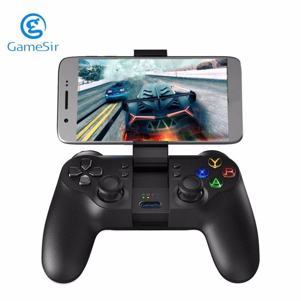GameSir T1 Android USB Wired Game Pad Wireless Bluetooth Gamepad Gaming PC Gamer Joystick For PS3 Smart TV Box Support Vibration