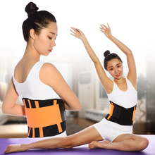 Portable Waist Support Belt for Lower Back Pain Relief Back Brace for Lumbar Protect with 4 ABS Supporting Strip 5 Size Optional цена и фото