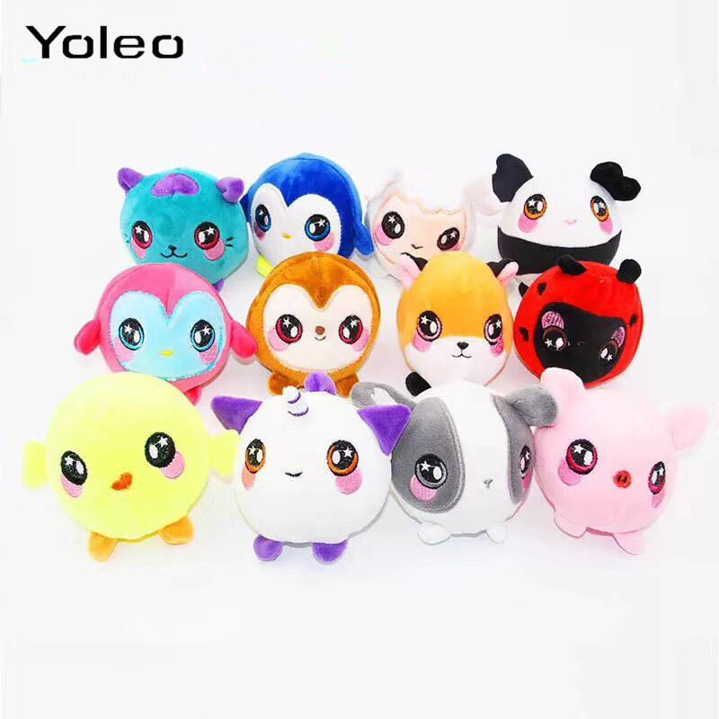 Plush Squishy Slow Rising Foamed Stuffed Animal Squeeze Toys Soft Squishies Slow Rebound Plush Toy PU Stress Relief Kids Toy