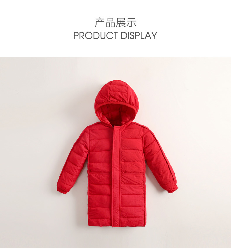 4fc367637 2018 Winter Girl Coats Female Children Long Jacket Thicken Outdoor ...