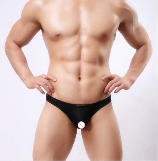 Fashion Free shipping Brave Ice Silk panties Low waist ice silk Bikini sexy men briefs underwear men 1124 ...