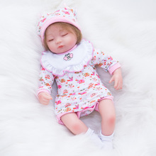 Bebes Reborn Doll 45cm Soft Silicone Reborn Baby Dolls Com Corpo De Silicone Menina Baby Dolls Christmas Gifts Lol Doll Surprice npkcollection silicone reborn dolls with soft gentle touch boneca reborn doll 18 realistic handmade baby dolls hotsell menina