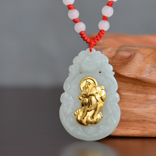 Good Quality Real Nature Jade Pendant For Men Women Lovers Couple Family Jewelry Best Gift Jade Necklace Pendants
