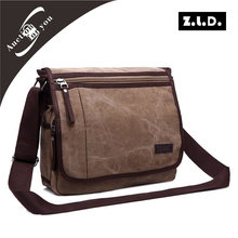 Korean version of the men's leisure package       Men 's canvas shoulder bag    Men Messenger bag