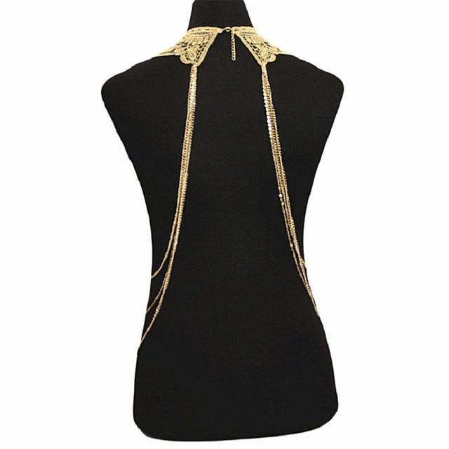 Lace Choker & Body Harness 2