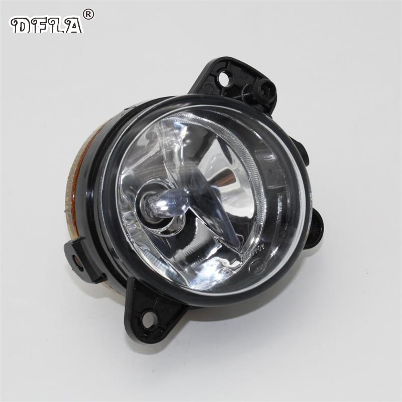 Car Light For Skoda Fabia MK1 Facelift 2005 2006 2007 2008 Car-Styling Front Bumper Halogen Fog Lamp Fog Light Left Driver Side ownsun innovative super cob fog light angel eye bumper cover for skoda fabia scout