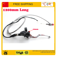 Hydraulic Clutch Level Master Cylinder Switch Cable Mirror Hold Dirt Pit Monkey Bike 50cc 125cc 155cc