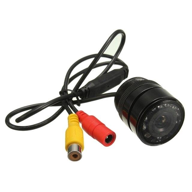 Wide Viewing 135  Degree Angle Waterproof Reversing Reverse Camera IR 9 LED Night Vision Car Rear View Camera