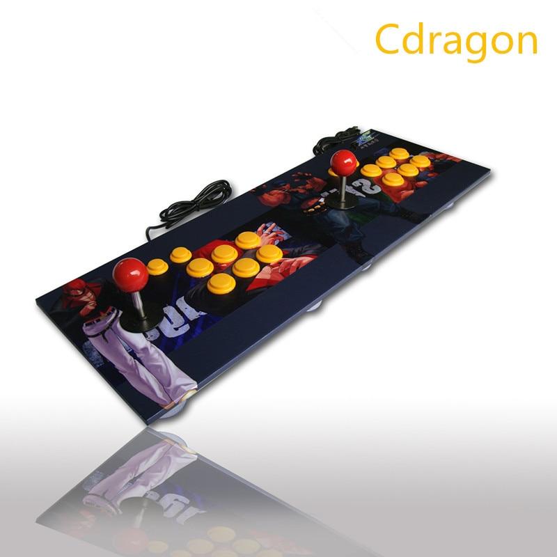 Cdragon Double Arcade bâton jeu vidéo manette manette manette manette pour Windows PC profitez du jeu amusant