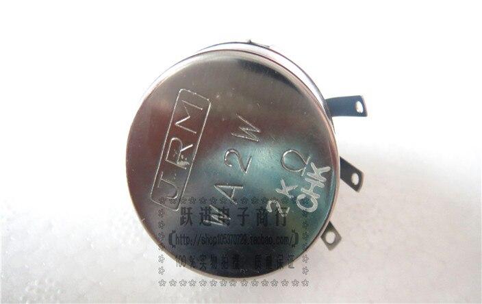 цена на Import Japan JRM WA2W 2K Wirewound Potentiometer Handle Length 20*6mm 20*6 Round Handle 20mm