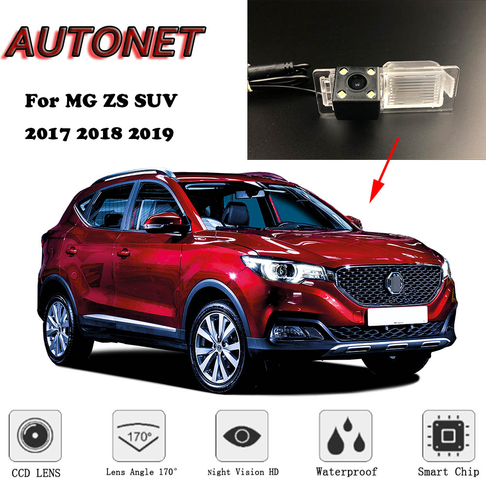 AUTONET Backup Rear View Camera For Morris Garages MG ZS 2017 2018 2019 SUV Night Vision Parking Camera/license Plate Camera