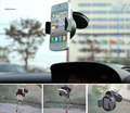 Universal 360 Degree Spin Car Windshield Mount Cell Mobile Phone Holder Bracket Stands For iPhone 4 5 6 Xiaomi Redmi mi5 mi4 mi3
