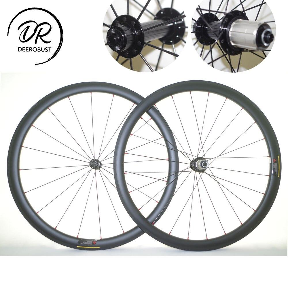 1029 Г легкий 700c 38 мм x 25 мм u образный трубчатые дорожный велосипед углерода колеса велосипеда колесная Powerway R13 Extralite концентратор UD 3 К твил