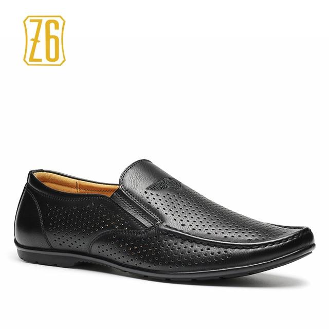 Z6 Brand men flats 39-44 driving comfortable soft handmade men loafers #9592