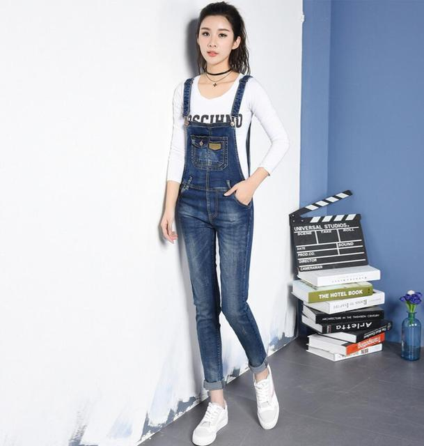 32fabe48308 New Women Denim Jumpsuit Romper Feminino casual Rompers Jumpsuit Jeans  Women Overall Playsuit s522