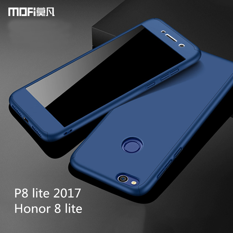 huawei p8 lite 2017 case with tempered glass huawei honor. Black Bedroom Furniture Sets. Home Design Ideas