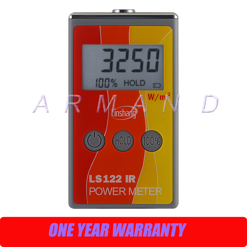 IR power meter LS122 solar power meter infrared radiation luminance infrared transmittance measurement sm206 solar power meter for solar research