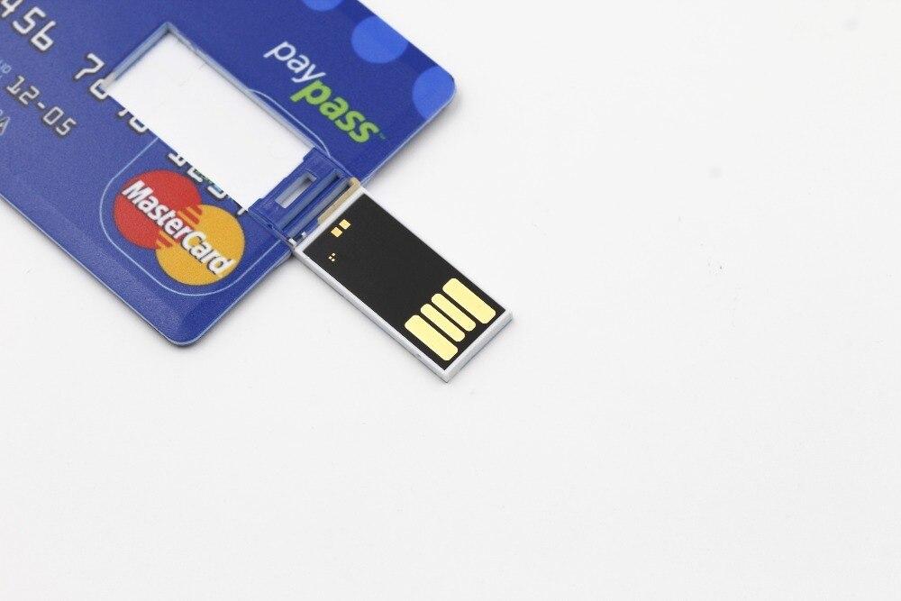 SMARE Creditcard USB Flash Drive op maat Pen drive pendrive - Externe opslag - Foto 3