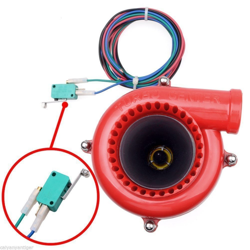 Coche falso volquete electrónico Turbo soplado de la válvula de enganche simulador analógico sonido BOV