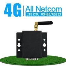 2G 3G 4G GPRS DTU Módulo de transmisión inalámbrica de datos de serie transparente RS232 RS485 a convertidor GPRS GSM SMS XZ DG4M