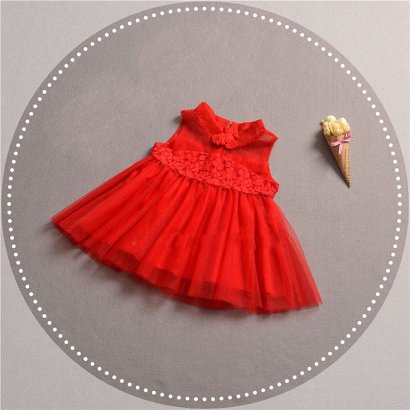 2018 New Summer Dress Girl China Style Tulle dress Children Baby Clothing Fashion Dresses Wedding Party For Girl Princess Dress литой диск replica legeartis vw144 6 5x16 5x112 d57 1 et33 bkf
