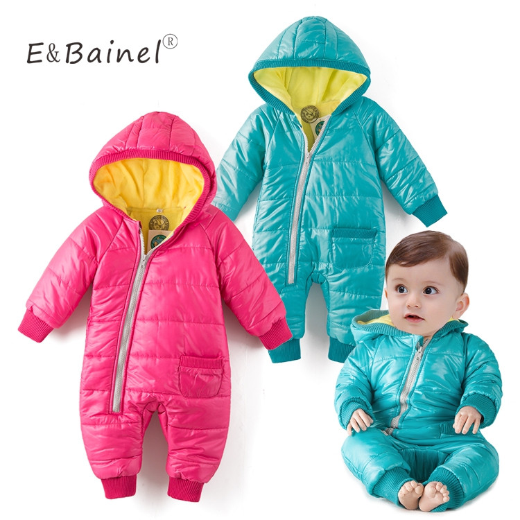 Baby Winter Rompers Thick Cotton Snow Wear Costume Warm Newborn Baby Clothes Baby Jumpsuit Children Clothing Overall Snowsuit baby snowsuit winter newborn baby rompers warm jumpsuit baby snow wear cotton thick romper kids outerwear clothes infant costume