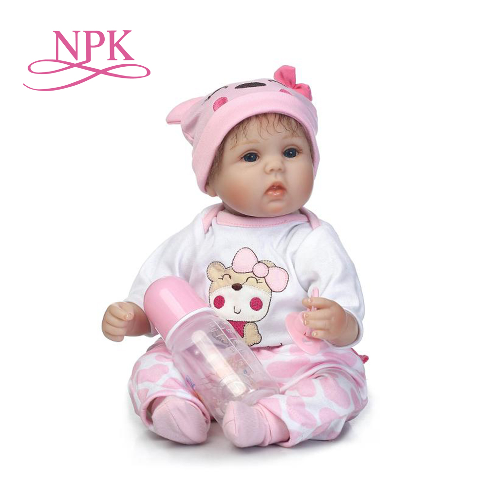 NPK realistic lifelike reborn baby doll soft real gentle touch playing toys for children Birthday and Christmas Gift