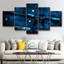 Counter Strike Global Offensive Weapon CS Game Poster Canvas Abstract Modern Decorative Art HD Wall Paintings For Home Decor