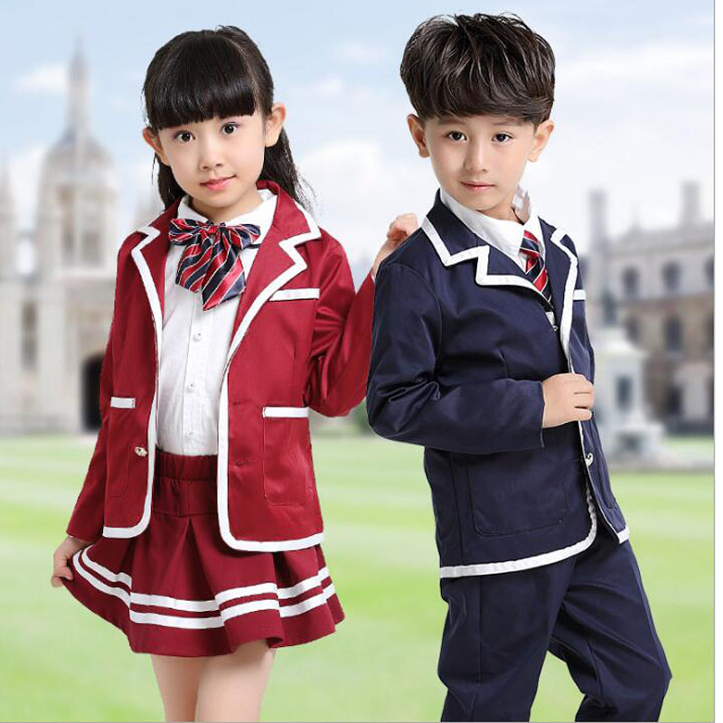 Children\'s Primary School Uniform Teen Students Chorus Costumes Kids ...