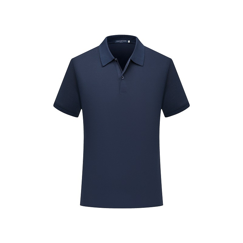 New Man   Polo   Shirt Mens Casual Solid Color Cotton   Polo   Shirt Men Short Sleeve 567#