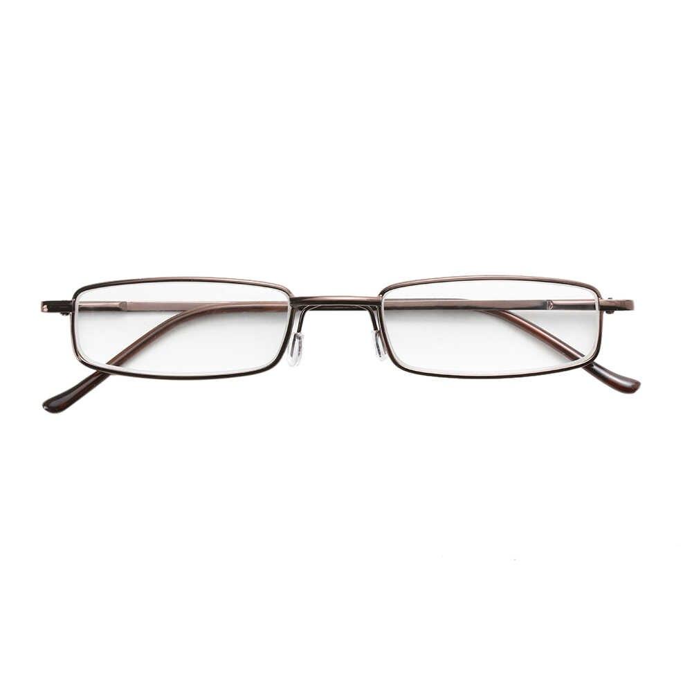 Portatile Occhiali Da Lettura Con Il Caso Delle Donne Degli Uomini di Occhiali Da Presbite Caso della Pagina Cerniera A Molla Occhiali Da Vista Eyewear + 1.00 ~ + 4.00