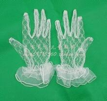 Children's clothing child gloves princess gloves princess accessories flower girl accessories ws66