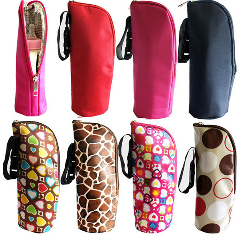 Baby Feeding Milk Bottle Warmer Insulation Bag Thermal Pouch Newbron Bolsa Botella Termica Thermos Travel Baby Bottle Holder