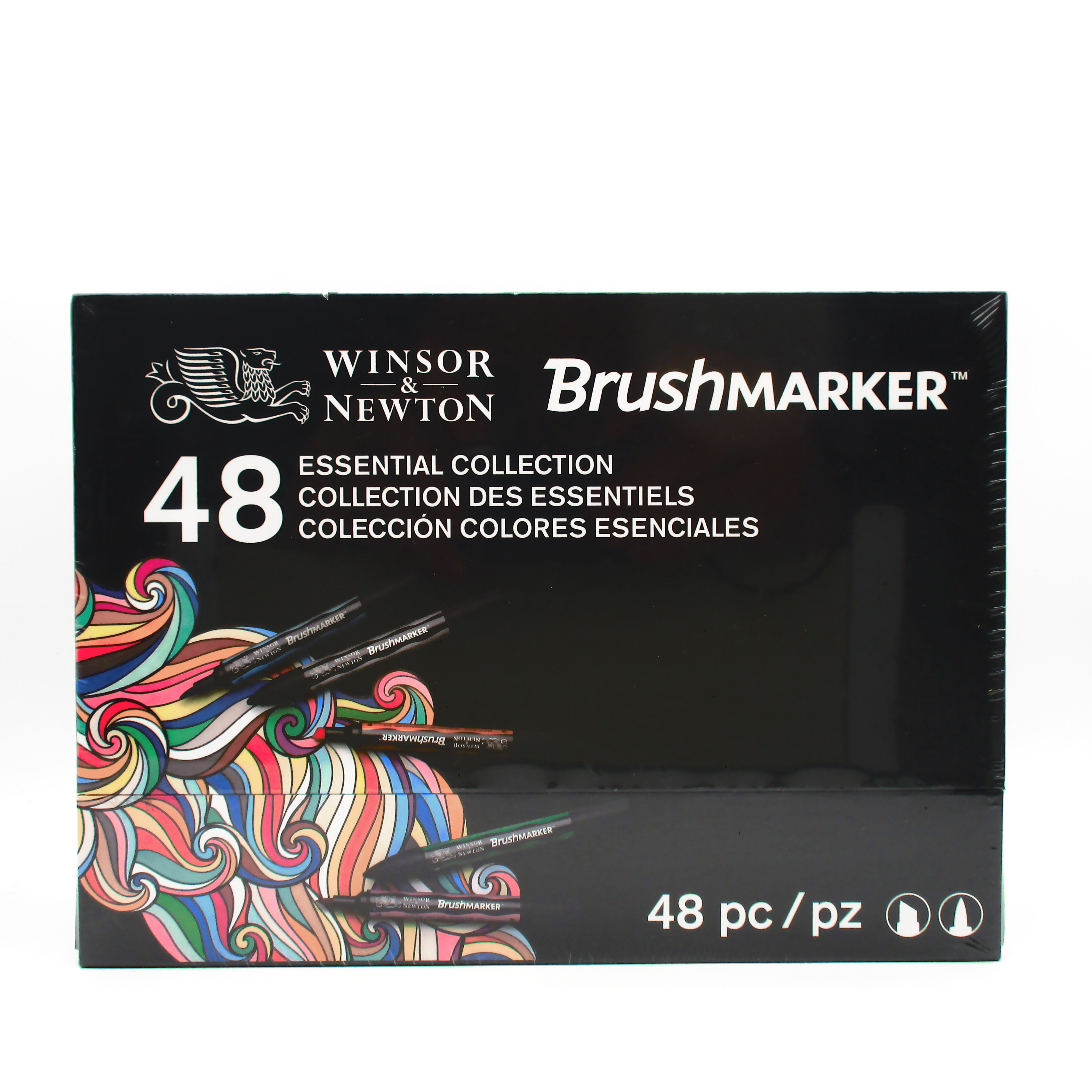 Winsor /& Newton BrushMarker 48 Essential Collection