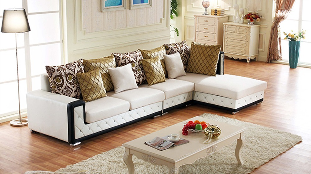 Bean Bag Chair Chaise New Living Room European Style Set Modern Fabric Hot Sale Low