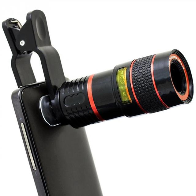 hot sale online e3166 3365c US $6.01 |Universal 8X/12X Optical Zoom Telescope Camera Lens Clip Mobile  Phone Telescope For iPhone6 for Samsung for HTC for Huawei-in Mobile Phone  ...