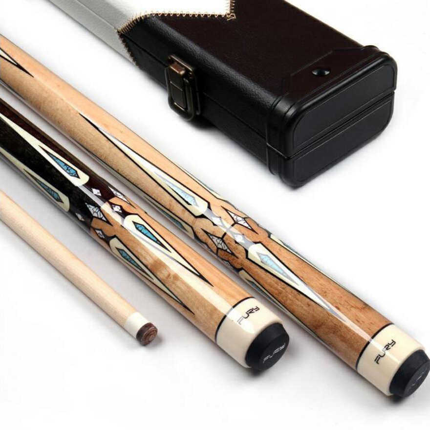 New FURY ZS Billiard Pool Cue Stick Kit 11.75mm 12.75mm with Pool Cue Hard Case Offer Combination Billar Professional 2019
