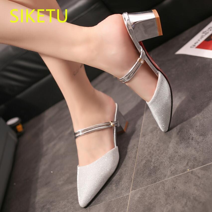 SIKETU Free shipping summer women shoes Fashion sexy high heels shoes Bridesmaid wedding shoes pumps g197 flip flop sandals