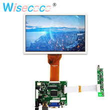 лучшая цена 7 inch 165*100mm LCD display with 4 wire resistive 800*480 AT070TN94 LCD screen module with Controller board for Raspberry pi 3B