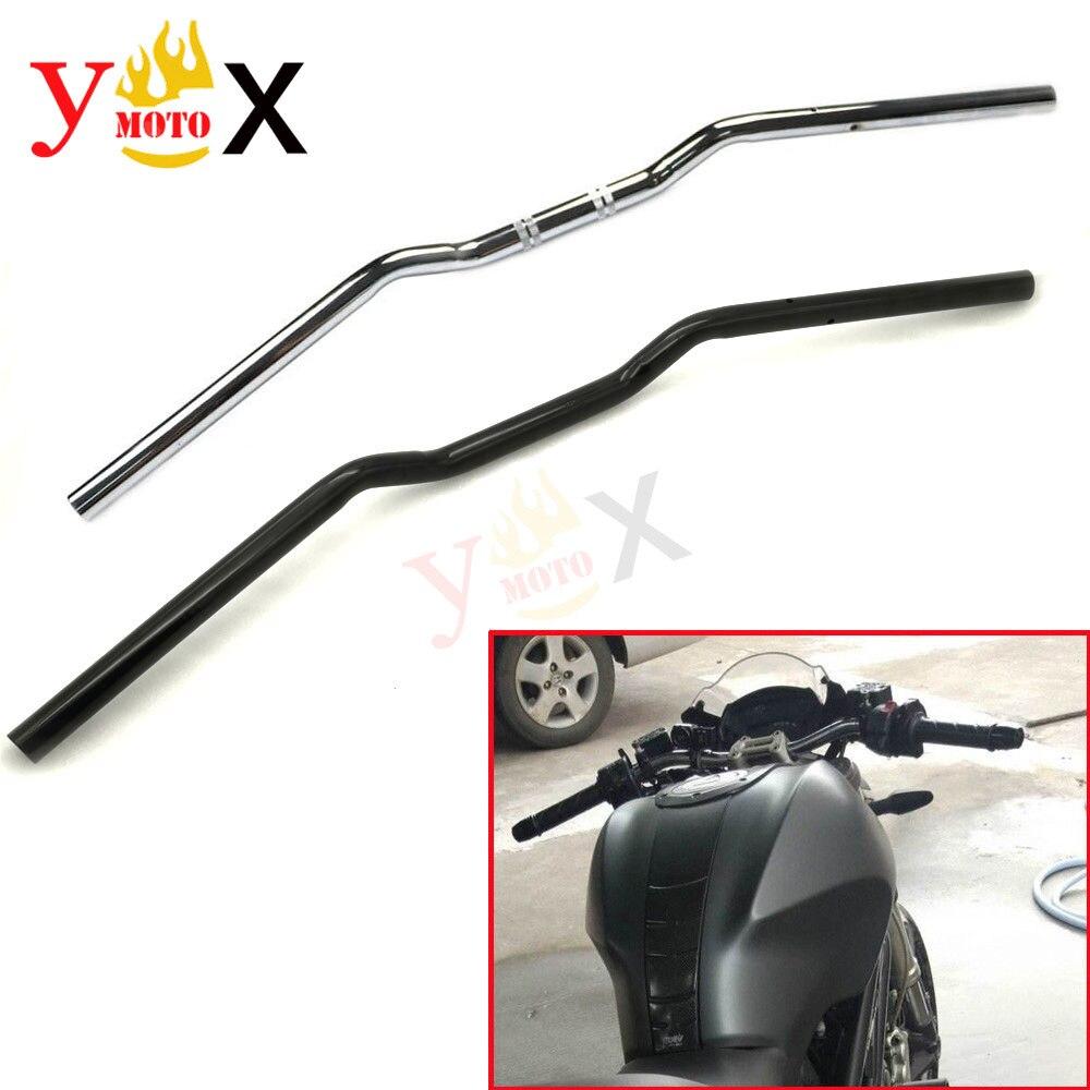 Motorcycle Black 22MM 7 8 Drag Handlebar Hand Bar For Geniune Ducati Monster 620 695 696