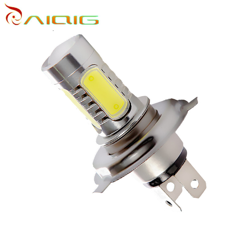 H4 led High Power 7.5W 5 LED White Head Fog Lamps Auto car led bulbs Car Light Source parking 12V 6000K Car Light Lamp 2pcs h11 led high power 7 5w car headlight fog lamps auto car led bulbs car light source parking 12v 6000k pure white